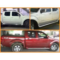 Estribo Personalizado Cor Original Nissan Frontier Sel
