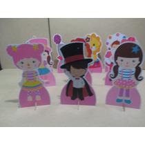 Circo Rosa Display De Mesa,festa Infantil,mdf