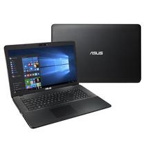 Notebook X751lj-ty171t, Intel Core I5,tela 17.3 Preto-asus