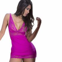 Camisola Sexy Vermelha Babydoll Sensual Em Liganete