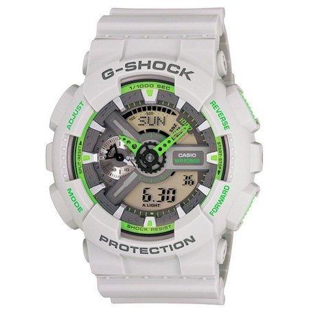 662b03eef84 Relogio Casio G Shock Ga 110gb Branco verde Oferta - R  405