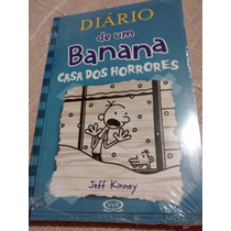 Livro Diário De Um Banana - Novo, Lacrado, Lançamento!!!