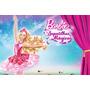 Painel Decorativo Festa Infantil Barbie Sapatilhas (mod6)