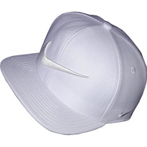 Bone Nike Branco Total Bordado Snapback Feixo Plastico
