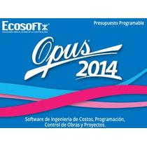 Aprende Opus 2014 Desde Cero+envio Gratis!!