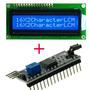 Pantalla Lcd Azul 16x2 Con Modulo I2c Para Arduino Pic Etc