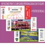 Invitaciones Cumpleaños Boca River Huracan Racing+regalo!!!
