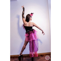 Disfraz Mujer Mouline Rouge - Burlesque Despedida De Soltera