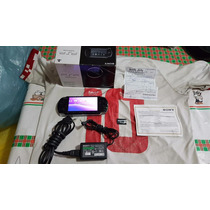 Psp Slim 3000 Na Caixa Cartão De 8g Lotado De Jogos Tudo 100