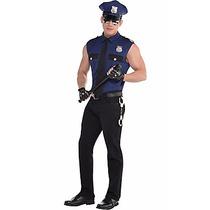 Disfraz Policia Para Hombre Usalo En Halloween