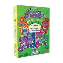 Coleção Ciranda Cirandinha Acompanha 1 Dvd E 5 Cds