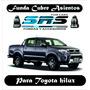 Funda Cubre Asientos Cuero Eco P/toyota Hilux Cabina Simple