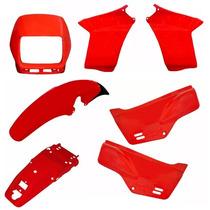 Kit Plástico Carenagem Honda Nx 200 7 Peças