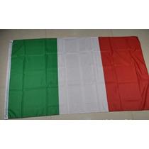 Bandera De Italia 150x90cm Seleccion Pais Europeo
