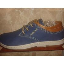 Zapatos Timberland Casual Azul Fashion Modelazo 37 A 40