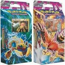 Starter Deck Pokémon Xy4 Força Fantasma Ventos Tornado Raios