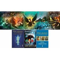 Coleção Percy Jackson & Os Olimpianos 8 Livros Frete Grátis