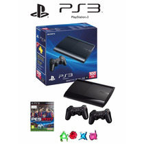 Consola Ps3 Ultra Slim 500 Gb Con Pes 17 100 % Nueva
