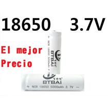 Pila Batería Recargables Bt Bai 18650 3.7v 5000mah Li-ion