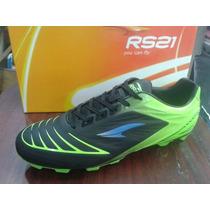 Zapatos Rs21 De Futbol Sala Futbolito Con Tacos Modelo 2016