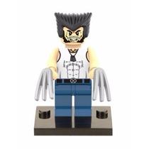 Mini Figure Wolverine 2 (compatível Com Lego)