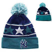 New York Yankees New Era Beanie Gorro Lana Importado Pom Mlb
