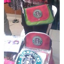 Cartera Bolso De Starbucks Coffee Y Emojis Whatsapp Vintage