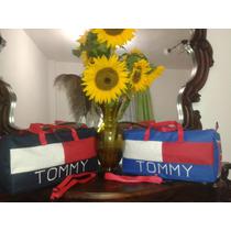 Bolso Viajero Tommy Unisex Para Damas Y Caballeros