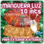 Manguera De Luces Navideñas Multicolor Led De 10 Metros Rgb