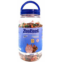 Big Mistura De Semente Chinchila Tropical Zoofood 2kg