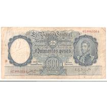 Bottero # 2094- Valor-500 Pesos M$n Año 1951