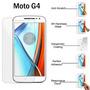 Protector Vidrio Templado Motorola G4 Solo Retiro En Caracas