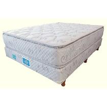 Colchon Y Sommier Linea Superstar Suavestar 160x200 C/pillow