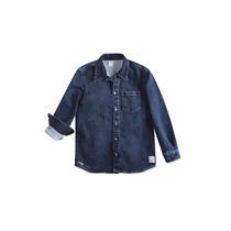 Camisa Jeans Hering Kids Infantil Masculina C24wjelus