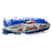 Aquacraft Motley Crew Brushless Fe Catamaran 2.4ghz Rtr