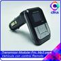 Transmisor Modulador Fm Mp3 Para Vehículo Con Control Remoto
