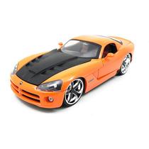 2008 Dodge Viper Srt10 1:24 Jada Toys Laranja