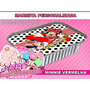Marmitinha Personalizada - Minnie Vermelha - 10 Und.