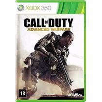 Xbox 360 - Call Of Duty Advanced Warfare - Mídia Física