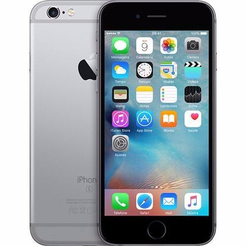 22f4ee212 Iphone 6s 16gb Cinza Espacial Preto Original Usado Promoção - R ...