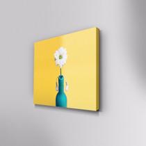 Cuadro Decorativo Girasol En Canvas 30x30 Cm