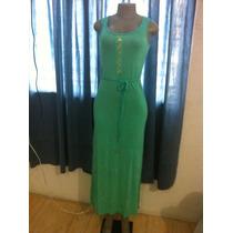 Vestido Para Dama En Algodon Unicolor