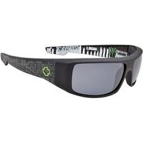 Gafas Spy Optic Logan Wrap Sunglasses Negro, Un Tamaño