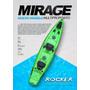 Kayak Rocker Mirage + 2 Remos