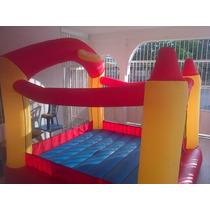 Castillo Inflable Tipo Cancha De Baloncesto 305x305x250 Cm