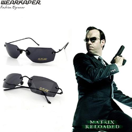 e62c068a4b85e Óculos De Sol Matrix Agent Smith Uv 400   Protection Preto - R  139 ...
