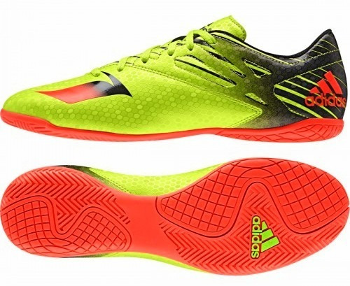 709c1f84512da Chuteira Futsal adidas Messi - R  269