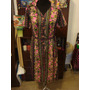 Retro Vintage Años 70 Vestido Con Rosas Talle M