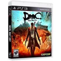 Devil May Cry 5 - Dmc - Midia Fisica Lacrado Original - Ps3