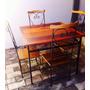 Mesa De Bar Barzinho Buteco Restaurante Com 4 Cadeiras
